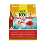 Tetra Pond KOI Colour&Growth Sticks Pokarm PREMIUM dla karpi koi o dł. od 25 cm.  - 4 l