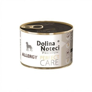 DOLINA NOTECI PERFECT CARE  ALLERGY Karma mokra dla psów skłonnych do alergii - 185 g