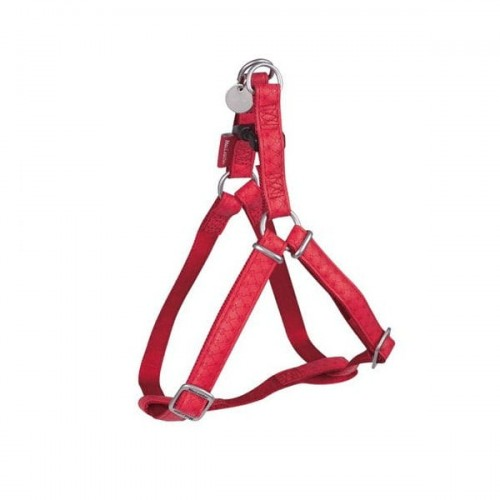 ZOLUX Szelki regulowane Mac Leather 20mm - kolor czerwony.jpg