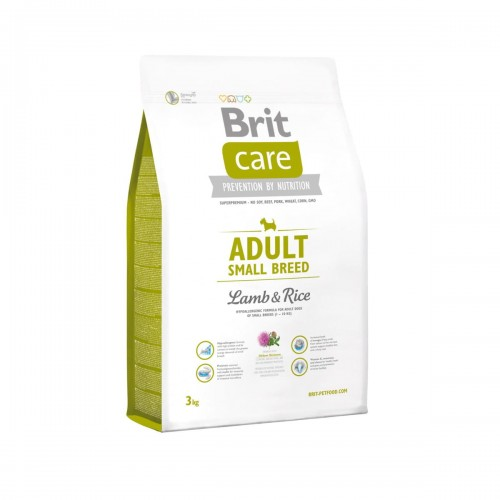 Brit Care Dog Adult Small Breed Lamb Rice - 3 kg.jpg